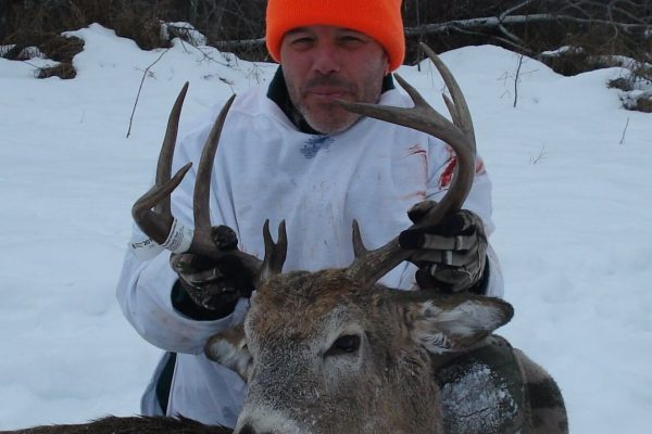 Paul's White Tail Deer Buck at Elusive Saskatchewan Whitetail Outfitter