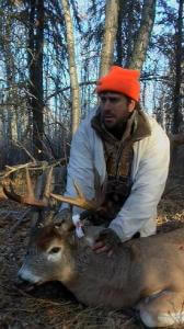 Saskatchewan Whitetail Deer Outfitter gets his cold weather