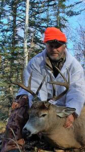 Saskatchewan Whitetail Deer Outfitter has to round up his cows